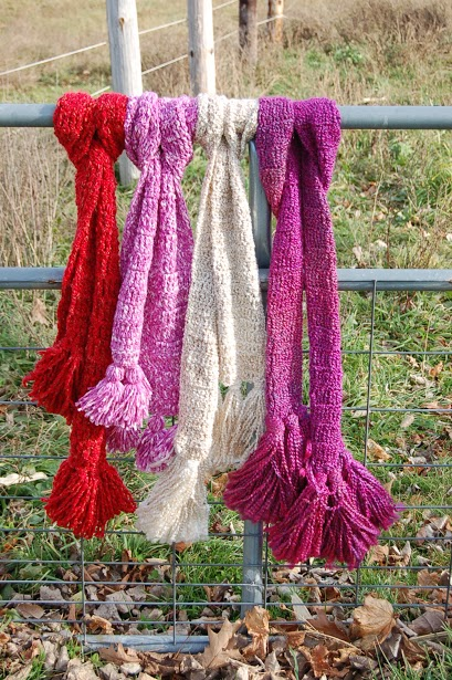 Simple Scarves - Easy #Crochet Gifts