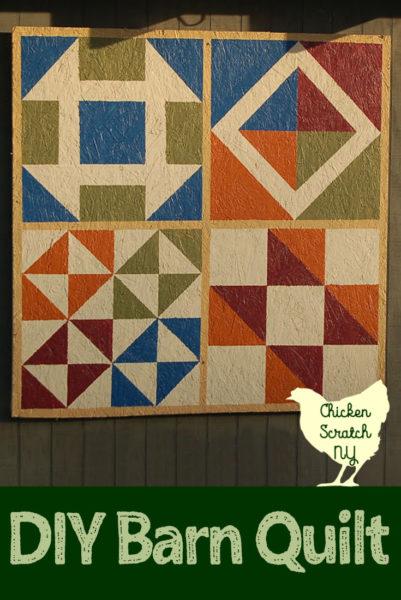 handmade barn quilt tutorial