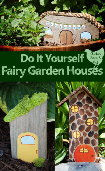 easy diy garden fairy houses. Black Bedroom Furniture Sets. Home Design Ideas