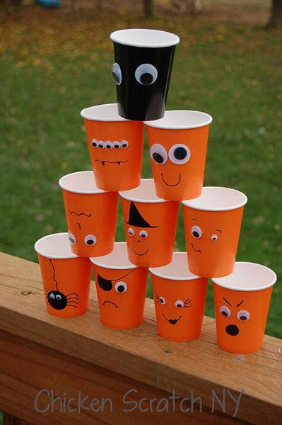Diy Halloween 21 easy to make diy halloween decorations Halloween Cups A Quick Diy