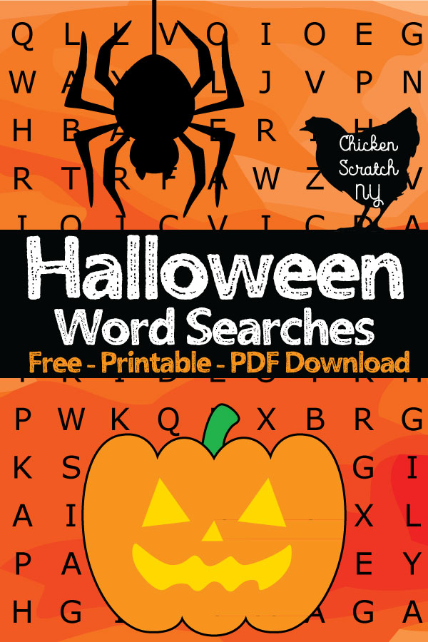 celebrate the halloween season with a whole pile of free printable word searches enjoy