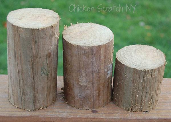 Round Wood Post