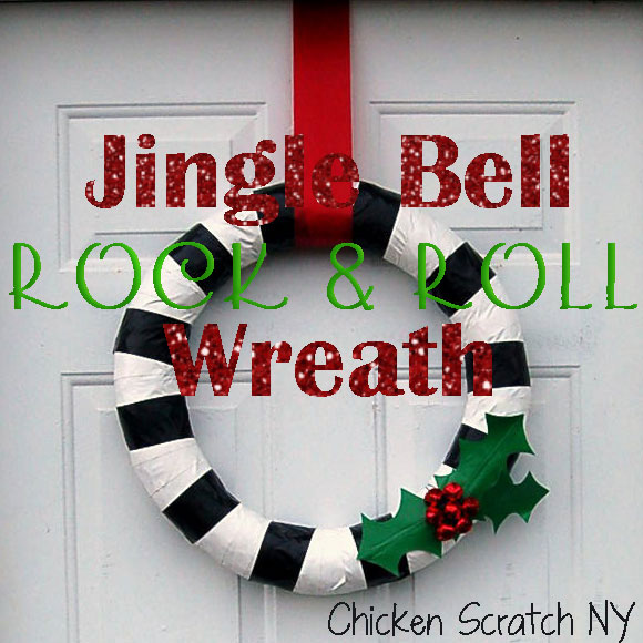 Duck Tape Holiday Wreath