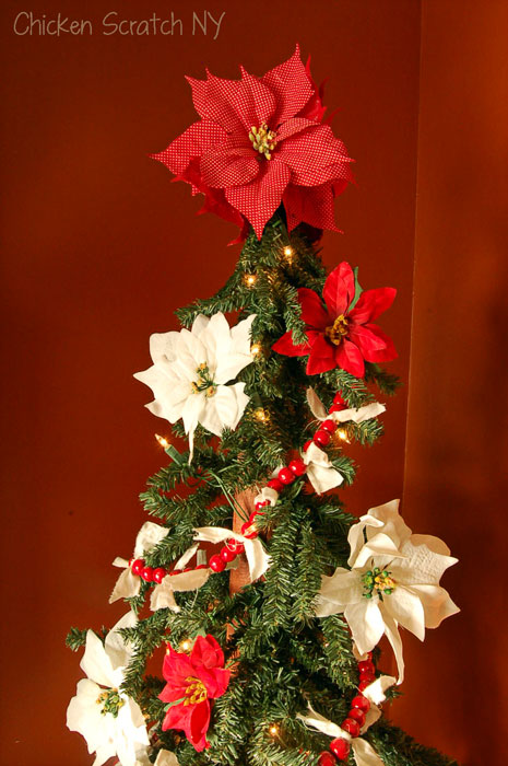rustic simple Christmas tree