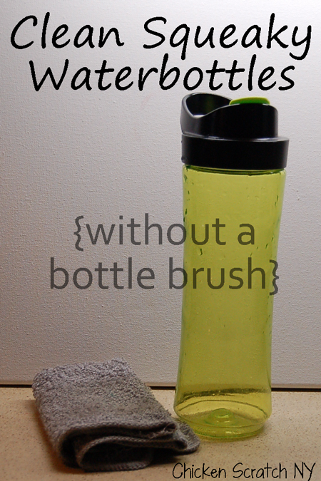 Simple Tip for Squeaky Clean Bottles