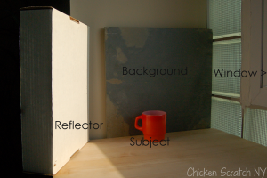 Photography Set Up: Small Object