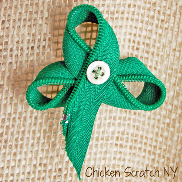 St. Patrick's Day Pin Tutorial