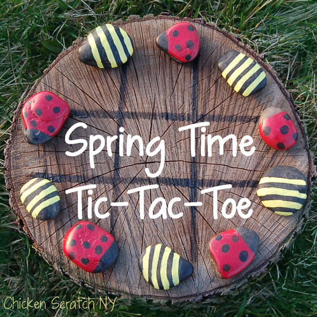 Ladybug and Bumble Bee Tic-Tac-Toe