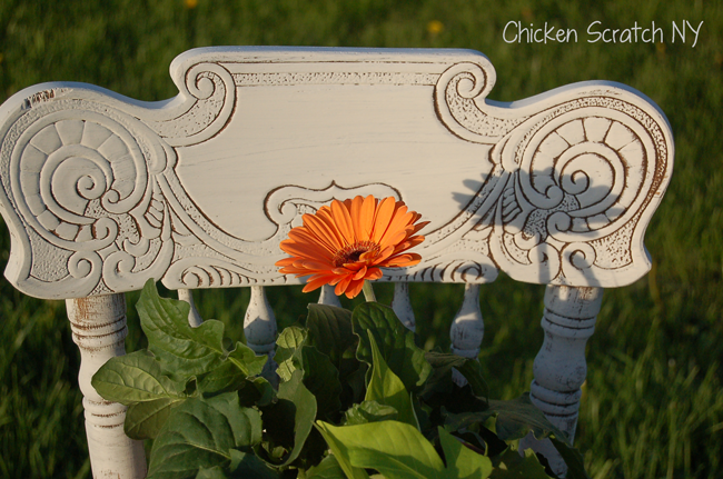 Chalk Paint Garden Chair