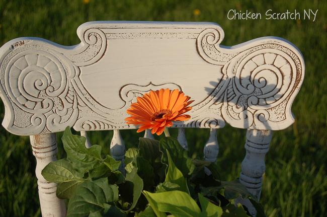Chalk Paint Garden Chair