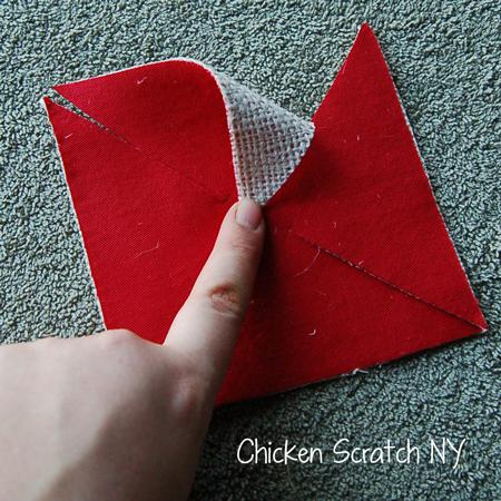Folded Pinwheel