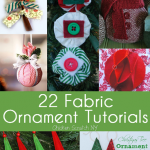 Fabric Ornament Round Up