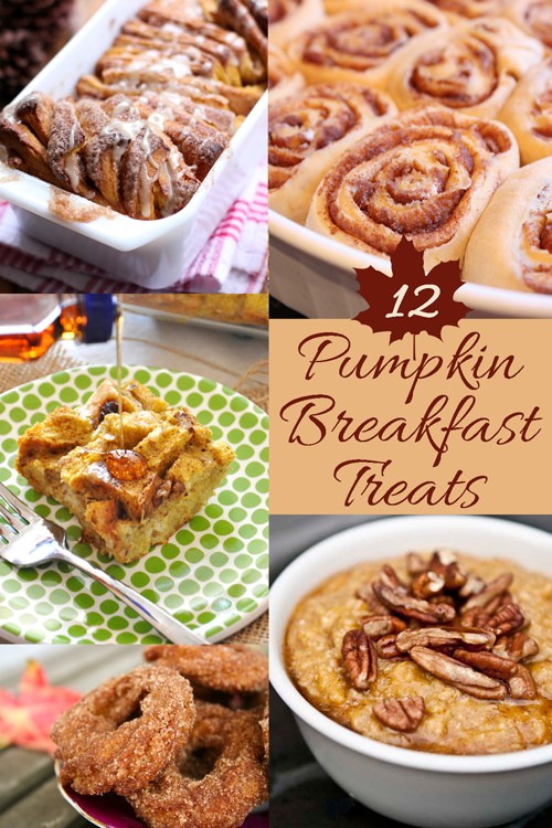 12 #Pumpkin #Breakfast Treats