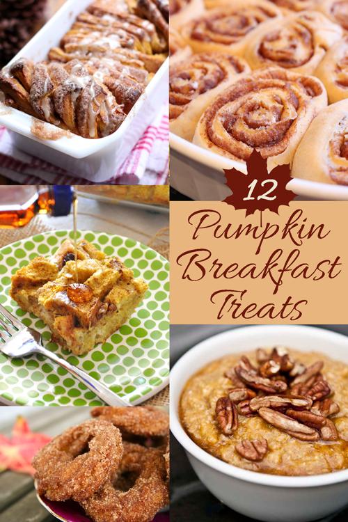 12 #Pumpkin #Breakfast Treats