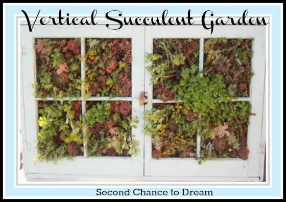 vertical garden filled in
