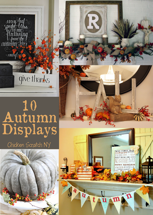 10 Inspirational #Autumn Displays from Around the Web
