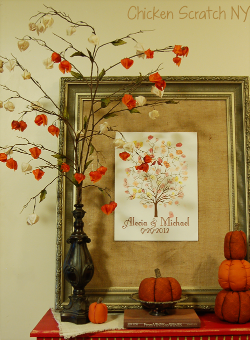 Chinese Lantern #Fall Flowers DIY