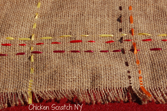Table Runner Closeup