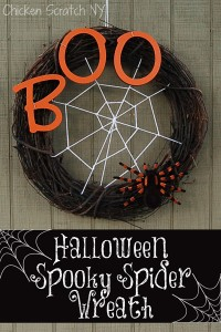 Spooky Spider #Halloween #Wreath