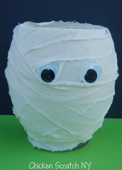 Empty Mummy Vase