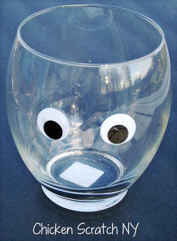 Mummy Vase Eyes