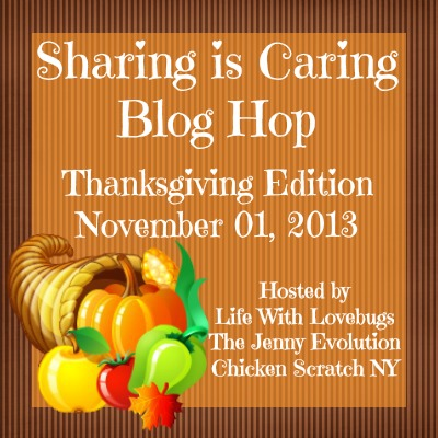 Sharing Is Caring Thanksgiving Blog Hop