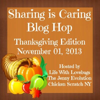Sharing Is Caring Thanksgiving Blog Hop