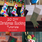 20 DIY Christmas Stocking Tutorials