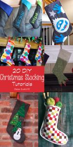 20 DIY Christmas Stocking Tutorials