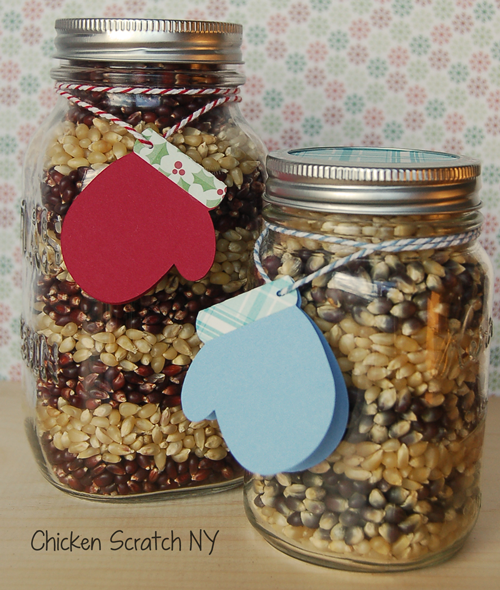 Fancy Popcorn Gift Jars