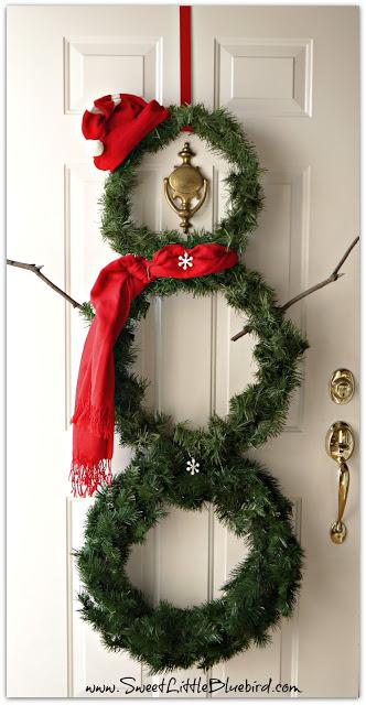 snowman wreath 1d