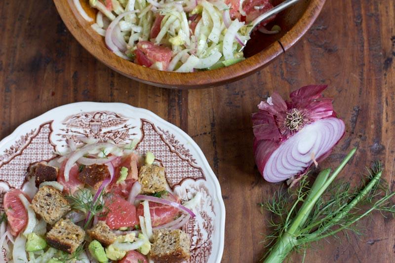 Panzanella-Salad-with-Grapefruit-Fennel-Avocado-3