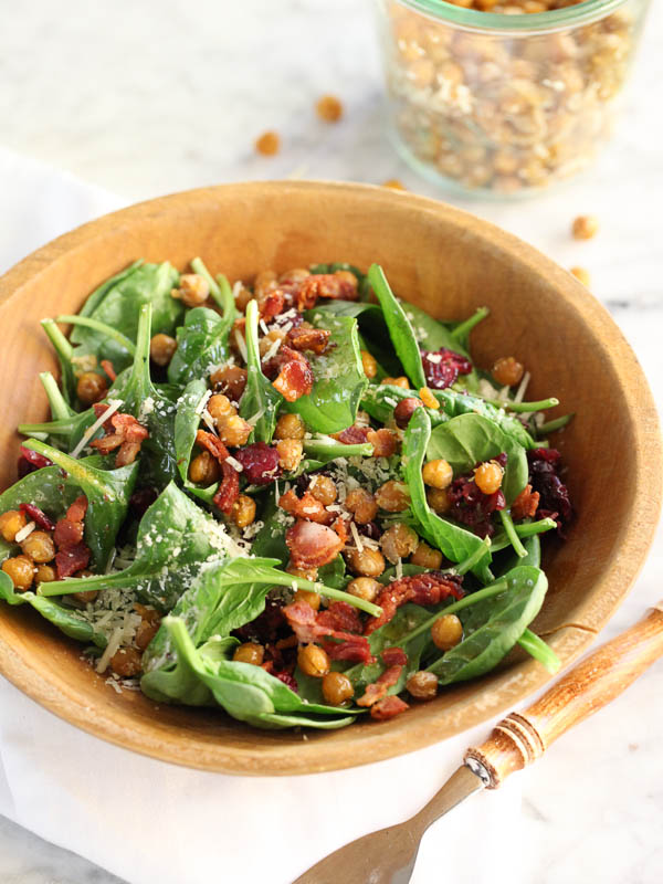 Spinach-Salad-with-Hot-Bacon-Dressing-FoodieCrush.com-08-2
