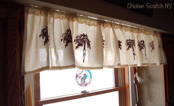 Screen Printed Curtains