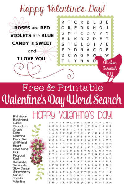 photograph about Valentine Crossword Puzzles Printable identified as Printable Valentines Working day Crossword Puzzle