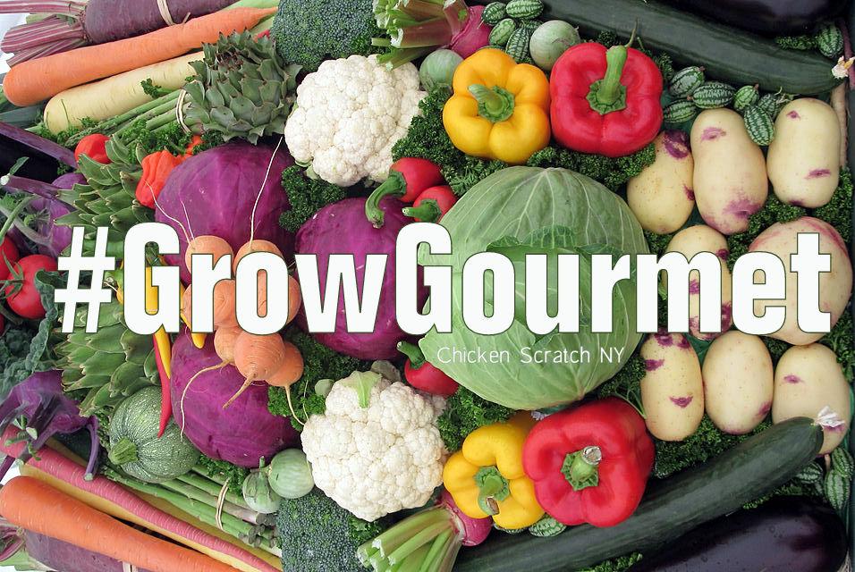 #GrowGourmet
