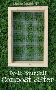 DIY Compost Sifter with 8+ #Garden Uses