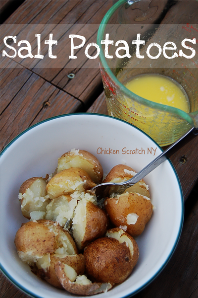 Salt Potatoes - The best potatoes you'll ever eat