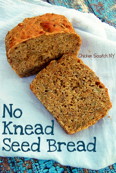 loaf of seed bread