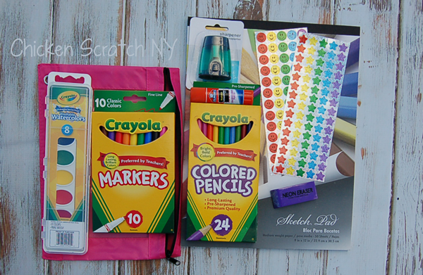 School Shopping for Christmas - Art Supplies for Older Kids