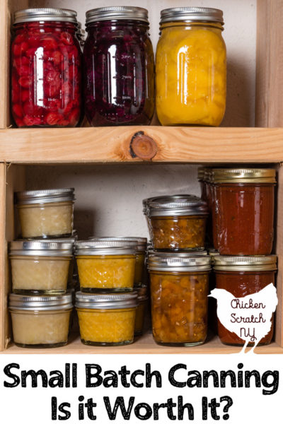 canning jars on a a wooden rustic shelf