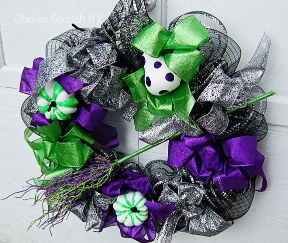 Cast A Spell Inspired Halloween Wreath - $31 vs $359
