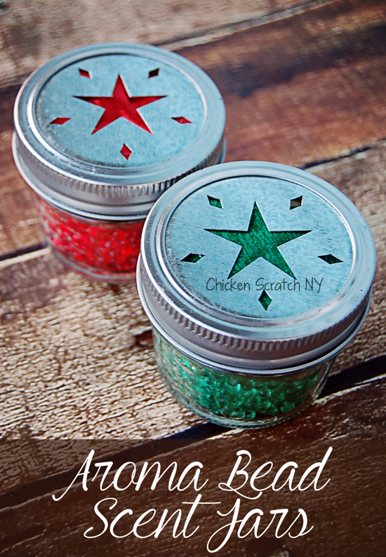 Whip up a set of Aroma Beads Scent Jars in seasonal fragrances perfect for holiday gift giving