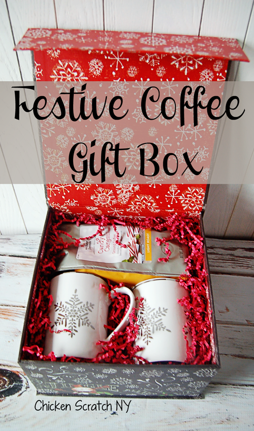 Put together a simple holiday gift for the coffee lovers in your life