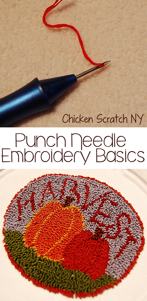 Punch Needle Embroidery Basics