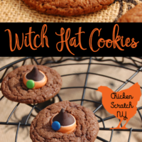 Witch Hat Halloween Cookies