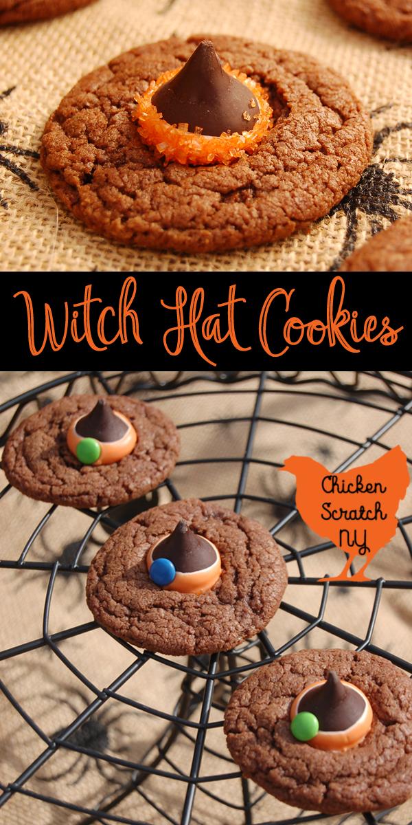 Halloween Witch Hat Cookies