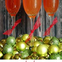 Sparkling Pomegranate Apple Cider