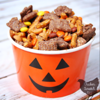 Autumn Puppy Chow Trail Mix