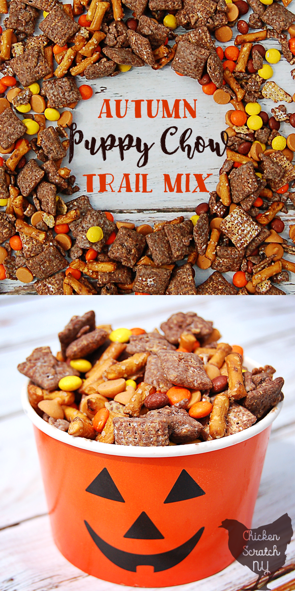 Halloween, trail mix, muddy buddies, snack, chocolate, peanut butter, kids